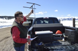 Wyoming Game and Fish Department Brucellosis Program Manager Brandon Scurlock has been involved with several research projects to improve understanding of how elk carry and transmit brucellosis. Photo by Emilene Ostlind.