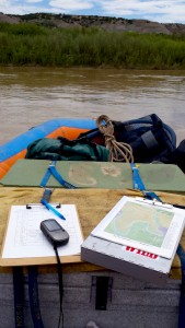 UW grad student Jon Bowler collected data during a 30-day ra expedition on the Green River.