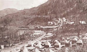 A town in Coal Basin for mining